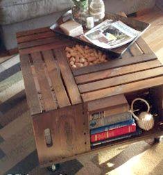 DIY Vintage wine crate coffee table - woodworking // Praktikus dohányzóasztal fa ládákból házilag - barkácsolás // Mindy - craft tutorial collection // #crafts #DIY #craftTutorial #tutorial