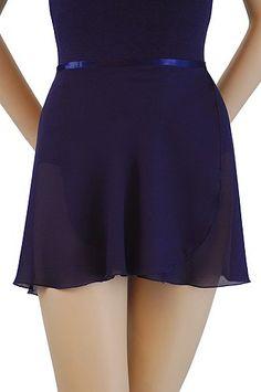 Trienawear Women's 14 Inch Georgette Wrap Dance Skirt with Ribbon Waist Tie Black P/S Girl Costumes, Dance Costumes, Ballet Wear, Ballet Dance, Sports Skirts, Georgette Fabric, Dance Wear, Leotards, Ballet Skirt