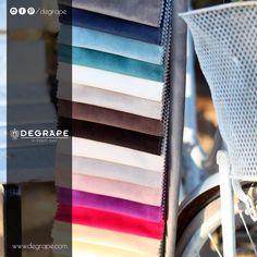 İçerisinde mutluluk saklayan kumaşlar var. Eğer hikayesi olan ve mutluluk taşıyan kumaşlarsa aradığınız, sizleri Alsancak'taki mağazamıza, MTK'daki Degrape depomuza ve tüm seçkin bayilerimize davet ediyoruz. Arzu ederseniz web sitemizden de detaylı inceleyebilirsiniz. #degrape #degrapedepo #perde #izmir #istanbul #design #home #homesweethome #decoration #color