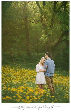 John + Mallory | Mountain Wildflower Engagement - Asheville NC Wedding Photographer - Suzanne Garland Photography