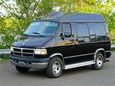 db8df81a9873f2 1994 Dodge Ram Van B250 3.9L V6 NO RESERVE SEE YOUTUBE VIDEO 1994 Dodge Ram  Van B250 3.9L V6 high top conversion b 250 hightop Cargo Van