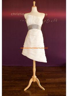 Elegante Kurze Brautkleider aus Satin