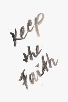 Keep the faith inspirational quote word art print motivational poster black white motivationmonday minimalist shabby chic fashion inspo typographic wall decor