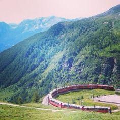 スイス、登山鉄道