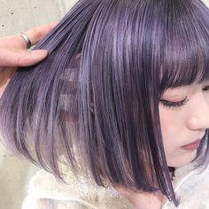 SHACHU✂︎official instagramさんはInstagramを利用しています:「ボブ✖️ウェーブ✖️ラベンダーアッシュ⭐️⭐️⭐️ 担当 MORIYOSHI MORIYOSHIヘア、ヘアカラー集はこちらから→ @moriyoshi0118 #shachu#hair#color#ヘア#ヘアカラー#グラデーションカラー#ラベンダー」 Bright Hair, Pastel Hair, Purple Hair, Two Color Hair, Bob Hair Color, Bob Style Haircuts, Bob Hairstyles, Brown Bob Hair, Grunge Hair