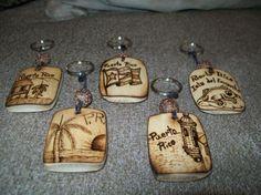 llaveros de madera artesanales personalizados - Buscar con Google