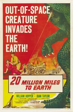 20 Million Miles To Earth.....1957