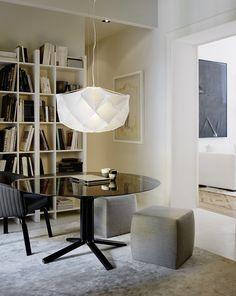 Fabric pendant lamp ALBEDO Medium - FontanaArte
