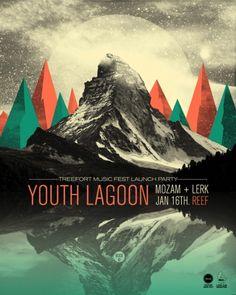 Designspiration — GigPosters.com - Youth Lagoon - Mozam - Lerk