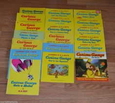 Curious George Picture Book Lot of 19, H.A. Ray, Paperback, Children's