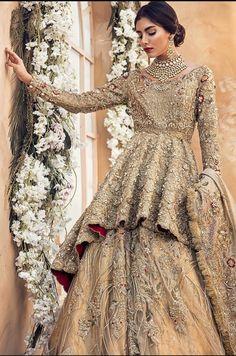 30 Stunning Pakistani Bridal Walima Dresses for Your Inspiration – Folder - Pakistani dresses Asian Bridal Dresses, Pakistani Wedding Outfits, Pakistani Bridal Dresses, Pakistani Wedding Dresses, Pakistani Dress Design, Bridal Outfits, Indian Dresses, Pakistani Fashion Party Wear, Bollywood Fashion