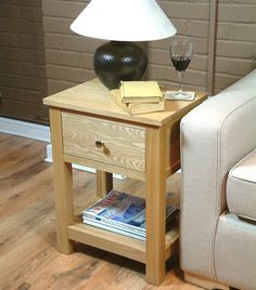 mobel oak three drawer lamp table mobel oak pinterest lamp table and drawers