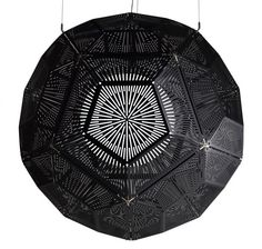 Replica Tom Dixon Punch Ball Pendant Light | BlackThe Block Shop - Channel 9
