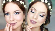 Post no Blog → http://www.julianagoes.com.br/post/maquiagem-de-ano-novo-2016/761 | Tutorial de maquiagem de Ano Novo, iluminada, sublime, inspirada na leveza...