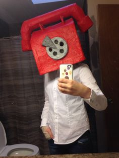 Phone guy / Scott cosplay home made by fastbug78 I love how it turned out!!