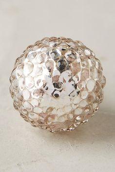 Dimpled Globe Knob - anthropologie.com
