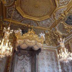 Versailles - Marie Antoinette's Bedroom