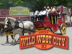 Wild West City western theme park and family entertainment.