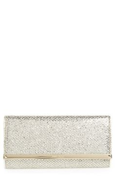Jimmy Choo 'Milla' Glitter Wallet on a Chain available at #Nordstrom