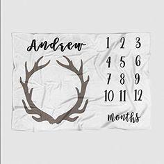 Personalized Month Milestone Baby Blanket - Pale Grey Dee... https://www.amazon.com/dp/B06XB3LZKM/ref=cm_sw_r_pi_awdb_x_MWgUybMW8BQJF