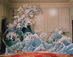 Xiao Wen Ju photographed by Tim Walker for W Magazine Hokusai, The Great Wave off Kanagawa Richard Avedon, Tim Walker Photography, Art Photography, Fashion Photography, Glamour Photography, Lifestyle Photography, Editorial Photography, Instalation Art, W Magazine