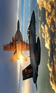 Super Hornets #jetfighter