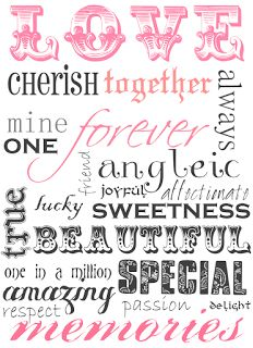 Top 15 Snazzy scrapbook words printable - Must check it! - 6 best images of scrapbook words free printables free printable. Find another ideas about form our gallery. Valentine's Day Printables, Printable Art, Printable Valentine, Printable Vintage, The Words, Valentine Day Crafts, Be My Valentine, Valentine Ideas, Wedding Quotes
