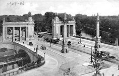 Charlottenburger Tor und Charlottenburger Brücke - old