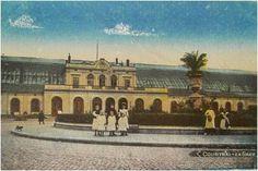 Het oude spoorwegstation