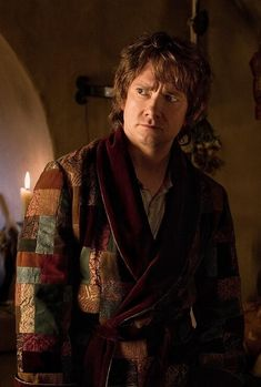 Bilbo's robe is the best. I want it so badly. Too bad Martin Freeman has the only one :(