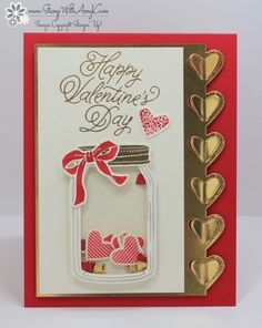 Stampin' Up! Sealed with Love and Jar of Love Valentine