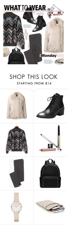 """""""What To Wear - Monday"""" by beebeely-look ❤ liked on Polyvore featuring STELLA McCARTNEY, Trish McEvoy, Madewell, Emporio Armani and Alaïa"""