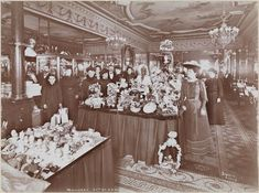 """Maillard's Confectionery, on 23rd Street inside the posh Fifth Avenue Hotel, was one of the most fashionable. Billing itself as """"an ideal luncheon restaurant for ladies,"""" the shop was """"an Edwardian fantasy"""" according to The Oxford Companion to Sugar and Sweets."""