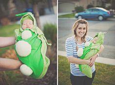 newborn pea pod halloween costume