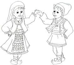. 1 Decembrie, Autism Classroom, Adult Coloring Pages, Projects For Kids, Flower Designs, Folk, Preschool, Moldova, Costumes