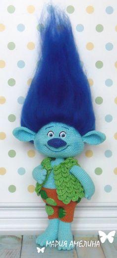 Branch Amigurumi Crochet Pattern by Maria by ToysbyAnilema