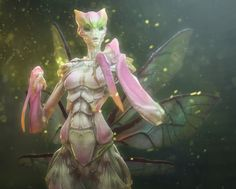Orchid Queen, Rich Carey on ArtStation at http://www.artstation.com/artwork/orchid-queen
