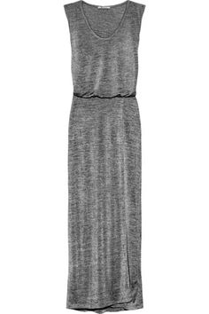 13 Cheap Dresses To Get You Through The Winter Blahs    T by Alexander Wang Stretch-Jersey Maxi Dress