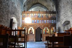 """Images inside the Monastery of """"Panagia Sinti""""!! #Cyprus Read more at www.secretcyprustravel.blogspot.com"""