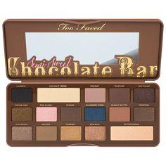 Too Faced Oogschaduw Semi-Sweet Chocolate Bar PRODUCT