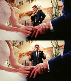 Supernatural wedding