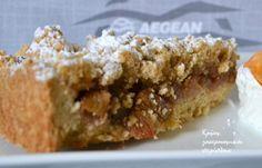 Φρούτα Archives - Page 3 of 10 - cretangastronomy. Greek Desserts, Apple Desserts, Greek Recipes, Cookie Recipes, Dessert Recipes, Apple Pear, Food And Drink, Menu, Pie