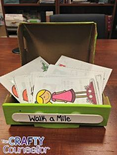 Walk a Mile- Teaching Students About Empathy