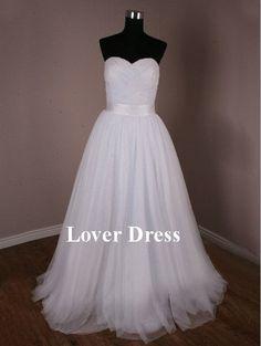 love love love! Simple Wedding Dresses / Beach Wedding Dresses / by LoverDress, $169.00