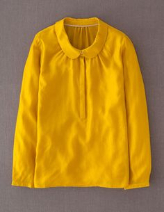 I've spotted this @BodenClothing Tuileries Top Bright Mustard