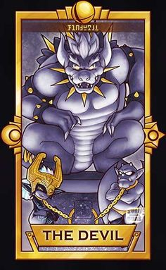 Midna and Devil make a cameo on this card. Giga Bowser - The Devil Super Smash Bros Brawl, Nintendo Super Smash Bros, Super Mario Bros, Super Smash Ultimate, King Koopa, Pokemon, V Games, Video Game Art, Video Games