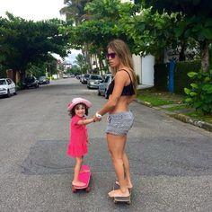Leticia Longboarding, Skater Girls, Vanessa Hudgens, Petite Fashion, Kardashian, Life Is Good, Bikinis, Swimwear, Surfing
