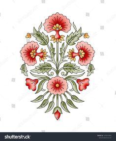 small butti Medium Style Haircuts medium length haircuts and styles Flower Motif, Motif Floral, Folk Art Flowers, Flower Art, Paisley Art, Textile Pattern Design, Turkish Art, Marble Art, Embroidery Art
