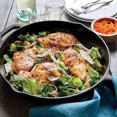 Escarole is amped up with a salty kick from fish sauce and pecorino and is brightened with sweet, crunchy carrots.