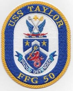 FFG-50 USS TAYLOR PATCH